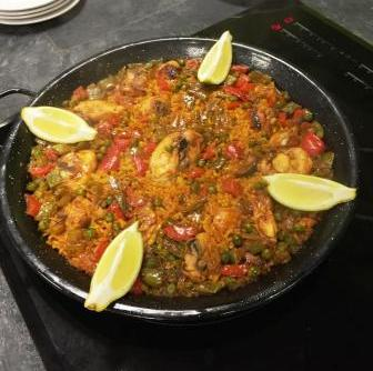 Spanish Cooking Class Paella